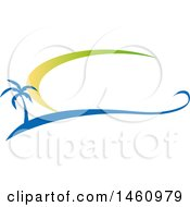Clipart Of A Hotel Text Design Royalty Free Vector Illustration