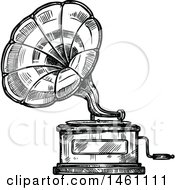 Sketched Phonograph