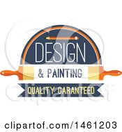 Poster, Art Print Of Painting Tool Design