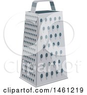 Clipart Of A Cheese Grater Royalty Free Vector Illustration by Vector Tradition SM