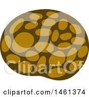 Clipart Of A Lotus Seed Royalty Free Vector Illustration by Cherie Reve