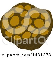 Clipart Of A Lotus Seed Royalty Free Vector Illustration