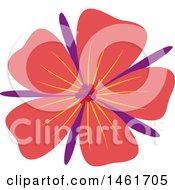 Poster, Art Print Of Red Flower