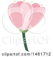 Poster, Art Print Of Pink Spring Flower