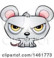 Cartoon Mad Evil Mouse