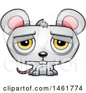 Cartoon Sad Evil Mouse
