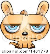 Cartoon Bored Evil Kangaroo