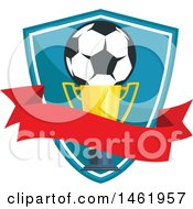 Soccer Ball And Trophy Design