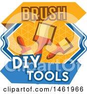 Poster, Art Print Of Paintbrush Tool Design