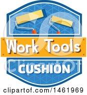 Poster, Art Print Of Rolling Paintbrush Tool Design