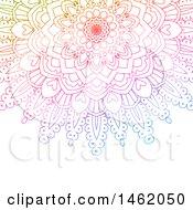 Poster, Art Print Of Colorful Mandala