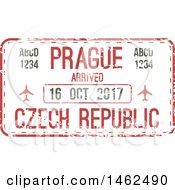 Poster, Art Print Of Passport Stamp Design