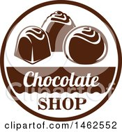 Chocolate And Text Design
