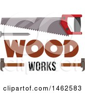 Clipart Of A Tools Design Royalty Free Vector Illustration