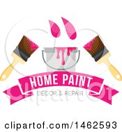 Poster, Art Print Of Pink Painting Design