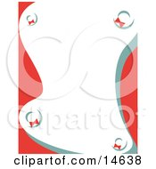 Stationery Background With Wreaths