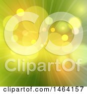 Clipart Of A Blurred Flare And Ray Background Royalty Free Vector Illustration