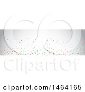 Party Confetti Website Banner