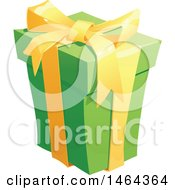 Clipart Of A Present Royalty Free Vector Illustration by Vector Tradition SM