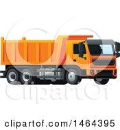 Poster, Art Print Of Dump Truck