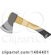 Wood Handled Axe Tool