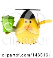 July 28th, 2017: Clipart Of A 3d Chubby Yellow Bird Graduate On A White Background Royalty Free Vector Illustration by Julos