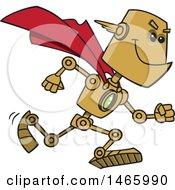 Poster, Art Print Of Cartoon Super Hero Robot