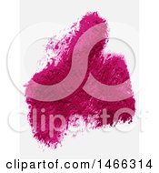 Clipart Of Textured Pink Purple Paint On White Royalty Free Vector Illustration