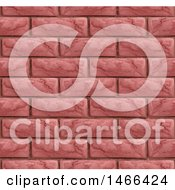 Seamless Red Brick Wall Texture Background