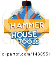 Hammer Shield Design With Text