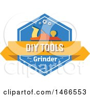 Grinder Shield Design With Text