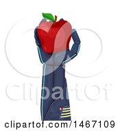 Poster, Art Print Of Robotic Hand Holding An Apple
