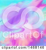 Poster, Art Print Of Colorful Watercolour Background
