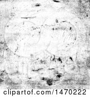 Clipart Of A Grunge Overlay Background Royalty Free Vector Illustration