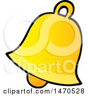 Clipart Of A Bell Royalty Free Vector Illustration