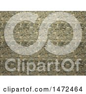 3d Stone Wall Background