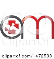 Clipart Of A Orthopedic Medical Abstract A M Design Royalty Free Vector Illustration