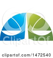 Clipart Of A Scales Face Design Royalty Free Vector Illustration by Lal Perera