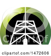 Clipart Of A Tower Icon Royalty Free Vector Illustration
