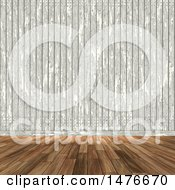 3d Wooden Wall And Floor Background