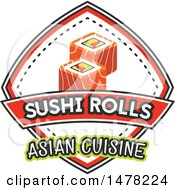 Sushi And Text Design