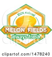 Melon And Text Design