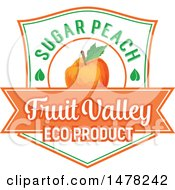 Peach And Text Design