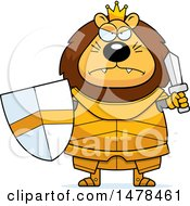 Chubby Mad Lion Knight