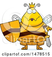Chubby Queen Bee In Armor