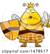 Chubby Mad Queen Bee In Armor