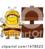 Chubby Bee Knight By Wood Signs