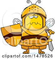 Chubby Sad Bee Knight