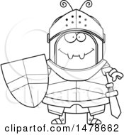 Chubby Outline Ant Knight