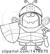 Chubby Outline Bee Knight
